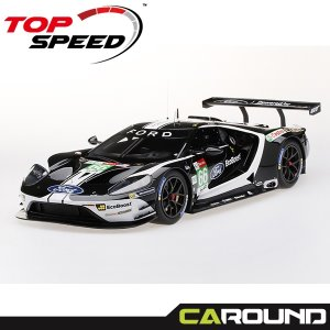 Top Speed 1:18 포드 GT 2019 르망24시 No.66 LM GTE-Pro Ford Chip Ganassi Team UK