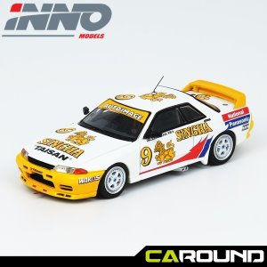 이노64 1:64 닛산 스카이라인 GTR R32 No.9 SINGHA NATIONAL PANASONIC APTCC 1992