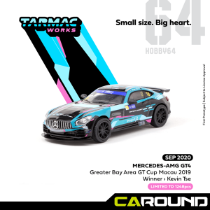 타막웍스 1:64 메르세데스 AMG GT4 Greater Bay Area GT Cup Macau 2019 Winner